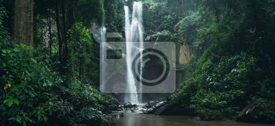 Fototapeta Wodospad Wodospad w przyrodzie podróżować mok Fah wodospad