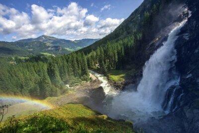 Fototapeta Wodospady Krimml