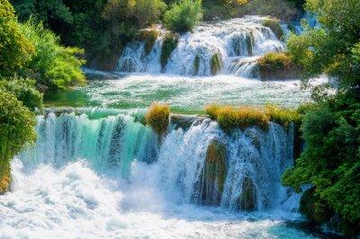 Fototapeta Wodospady Krka