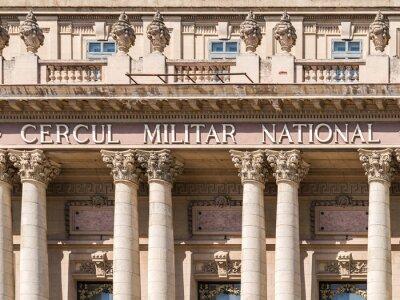 Fototapeta Wojskowe Koło Narodowy w Bukareszcie zbudowany w 1912 roku.