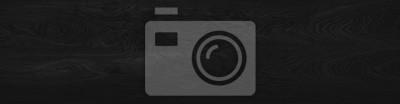 Fototapeta Wood black background long. Dark texture blank for design