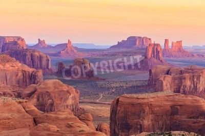 Fototapeta Wschód słońca w Hunts Mesa