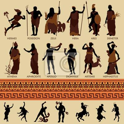 Wszystkie 12 greckich bogów i mitologii