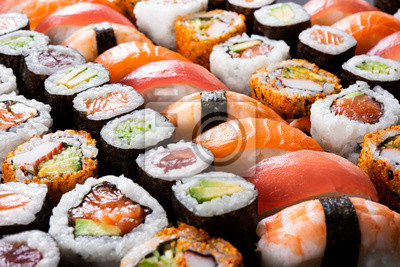 Fototapeta Wszystko, co możesz jeść sushi