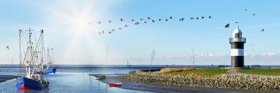 Fototapeta Wurster Nordseeküste