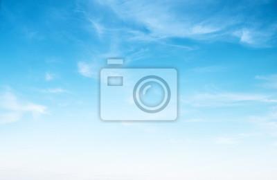Fototapeta Wyczyść błękitne niebo i białe chmury