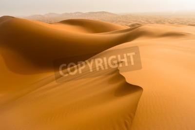 Fototapeta Wydmy piaszczyste na Saharze, Merzouga, Maroko