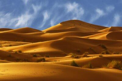 Wydmy Sahary, Maroko