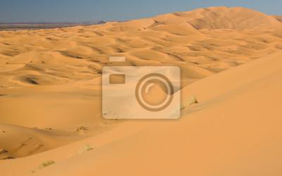 Wydmy Sahary w Maroku