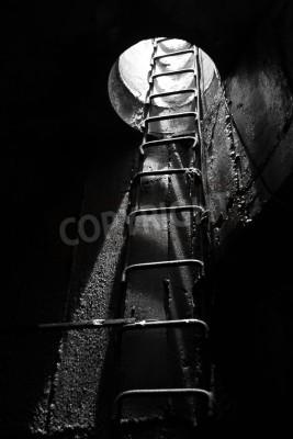 Fototapeta Wyjście z ciemności