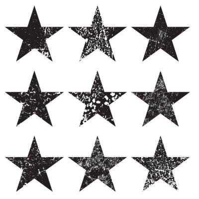 Fototapeta Wyruszył Grunge Stars