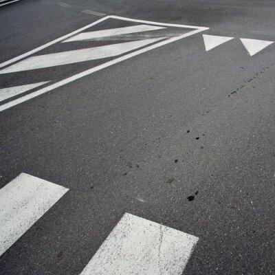 Fototapeta Wyścig samochodów asfalt
