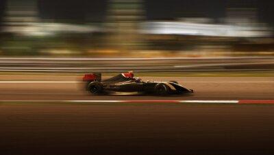 Fototapeta wyścigi samochodowe wyścig z dużą prędkością