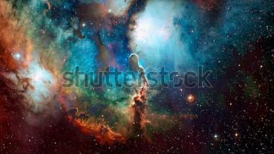 Fototapeta Wysokiej jakości tło kosmiczne. Elementy tego zdjęcia dostarczone przez NASA.