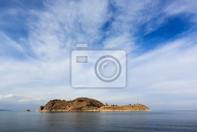 Wyspa akdamar i Ormiański Kościół
