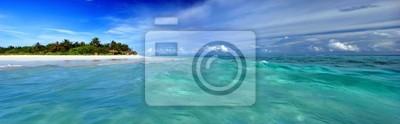 Fototapeta Wyspa na Malediwach