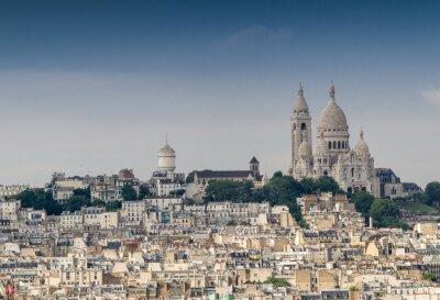 Fototapeta Wzgórze Montmartre w Paryżu