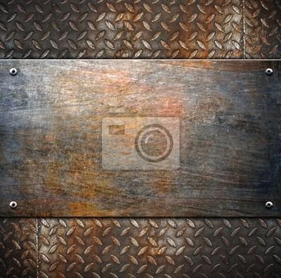 Fototapeta wzór tle metalu