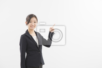 Fototapeta ス ー ツ の 女性