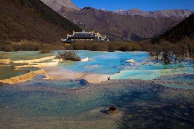 Fototapeta 夏 の 黄龍 五彩池