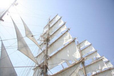 Fototapeta 太陽 と 帆船