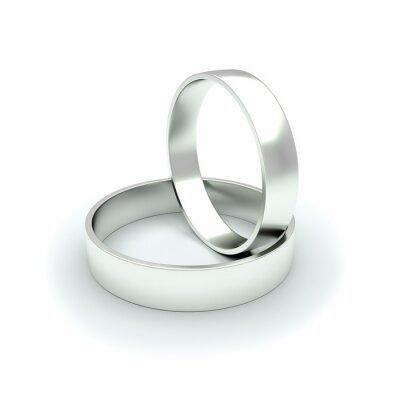 Fototapeta Серебряное кольцо