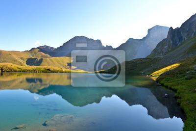 Fototapeta Горное озеро