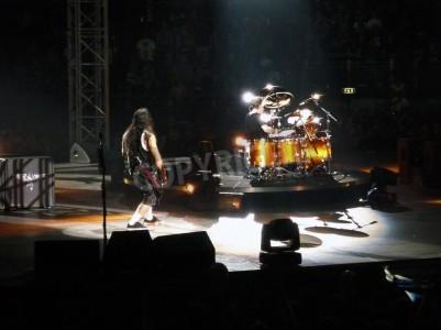 Fototapeta Koncert zespołu â € œMetallicaâ € w Rzymie 24 czerwca 2009 roku etap