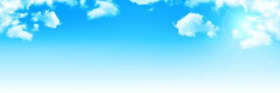 Fototapeta 空 雲 風景 背景