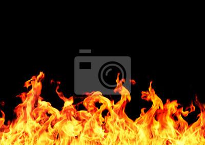 Fototapeta 炎