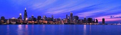 Fototapeta XXL - Panorama Famous Chicago