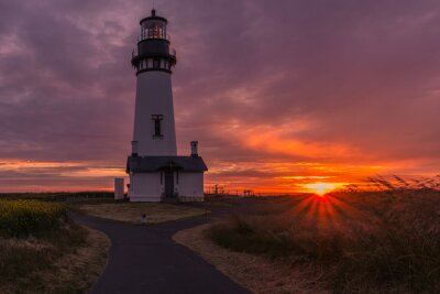 Fototapeta Yaquina Head lighthouse