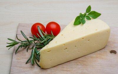 Fototapeta Yellow cheese