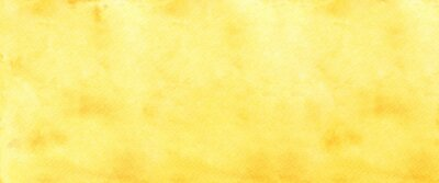 Fototapeta Yellow watercolour background, Watercolour painting soft textured on wet white paper background, Abstract yellow watercolor illustration banner, wallpaper