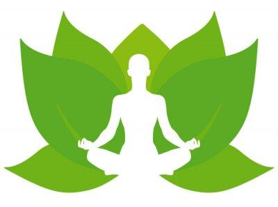 Fototapeta Yoga lotus