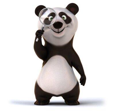 Fototapeta Zabawa panda