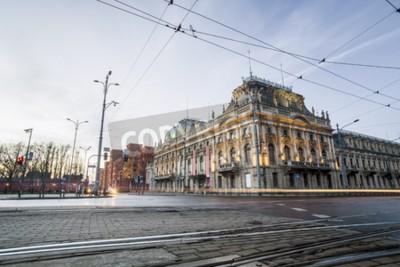 Fototapeta Zabytkowy Pałac Poznańskiego, Łódź w centrum Polski
