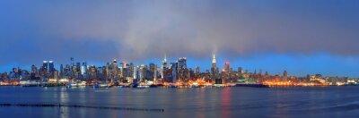 Fototapeta Zachód słońca w Nowym Jorku