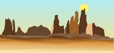Zachodnia pustynia w amerykańskim stylu