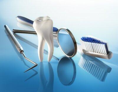 Fototapeta Zahnpflege 2