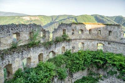 Fototapeta Zamek w Lietawie na Słowacji