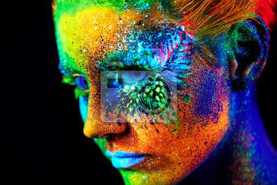 Fototapeta zamknij portret UV