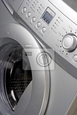 Fototapeta Zamknij się z pralki