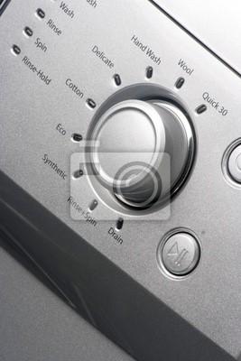 Zamknij się z pralki Knob / Dial