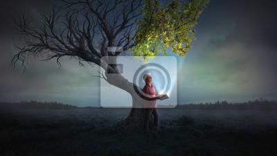 Fototapeta Zaprowadzenie życia na drzewo