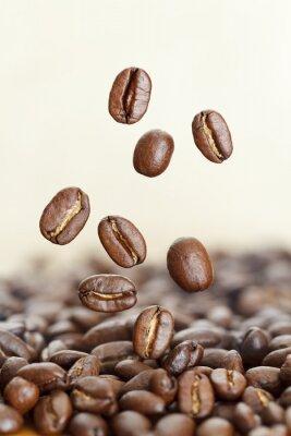Fototapeta Zbliżenie z ziaren kawy