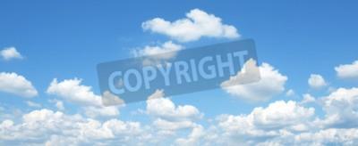 Fototapeta Zdecydowana błękitne niebo i chmury niebo