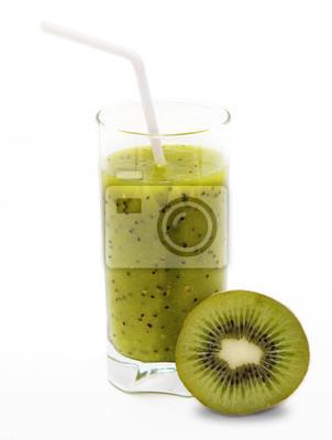 Zdrowe smoothie kiwi