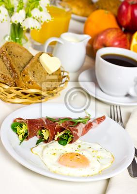 Zdrowe śniadanie.