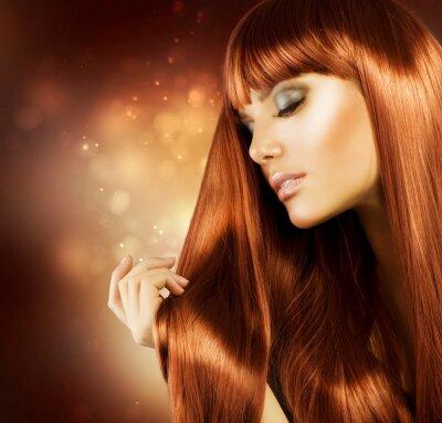Fototapeta Zdrowe włosy